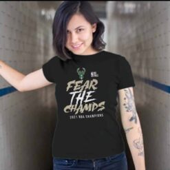 Bucks Championship T Shirt Fear The Champs