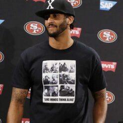 Colin Kaepernick Fidel Castro Shirt Like Minds Think Alive