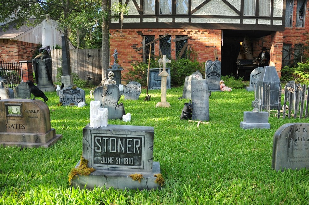 Frontyard DIY Graveyard