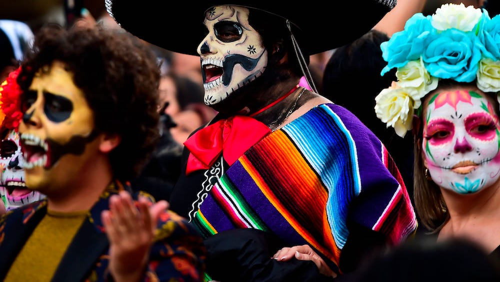 Do you know how do we celebrate Halloween in Mexico?