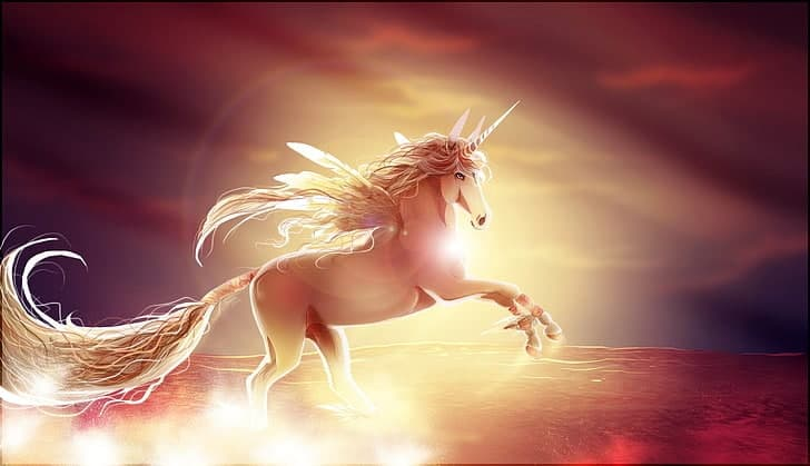 Ember Unicorn- remarkable birght unicorn