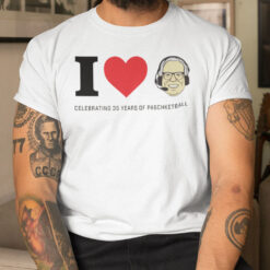 Funny Jim Paschke Shirt Celebrating 35 Years Of Paschketball