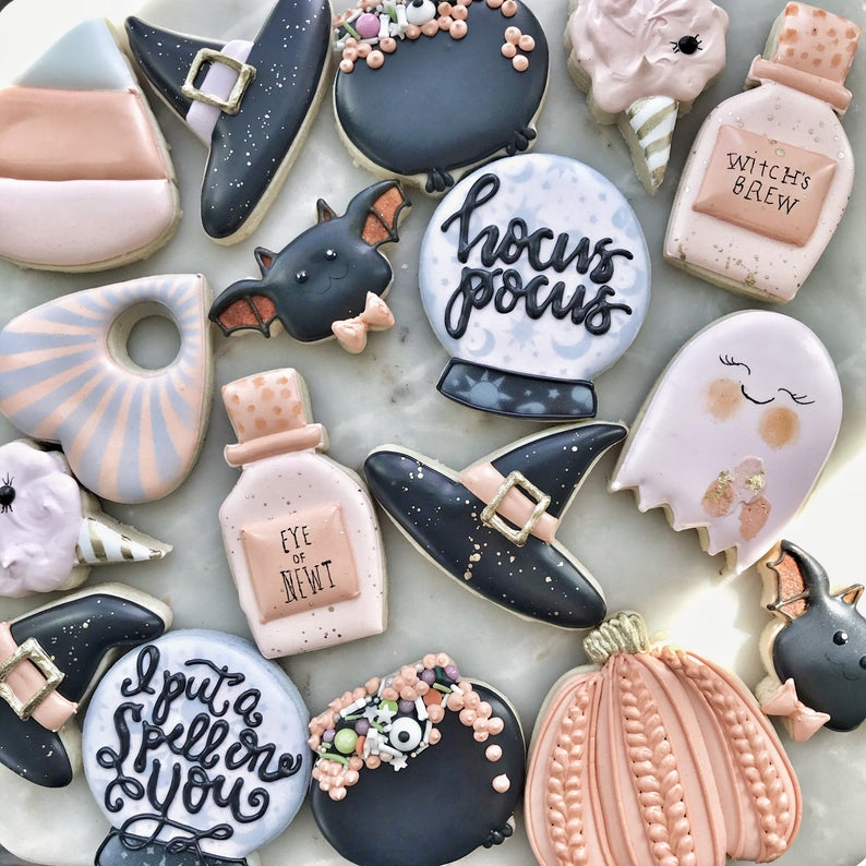 Halloween Cookies Witches Collection- best Halloween gift 2021