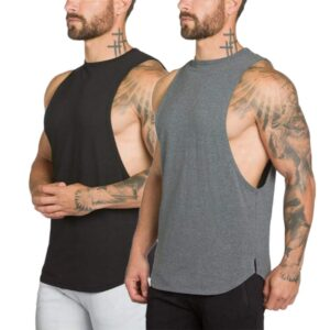 How to cut a shirt into a muscle tank