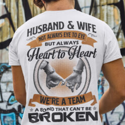 Husband And Wife Shirt A Bond That Can't Be Broken