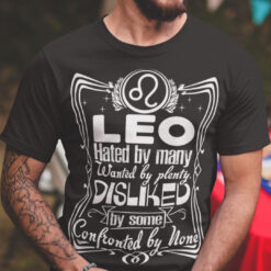 Leo T Shirt If You're Lucky A Leo Will Handle You