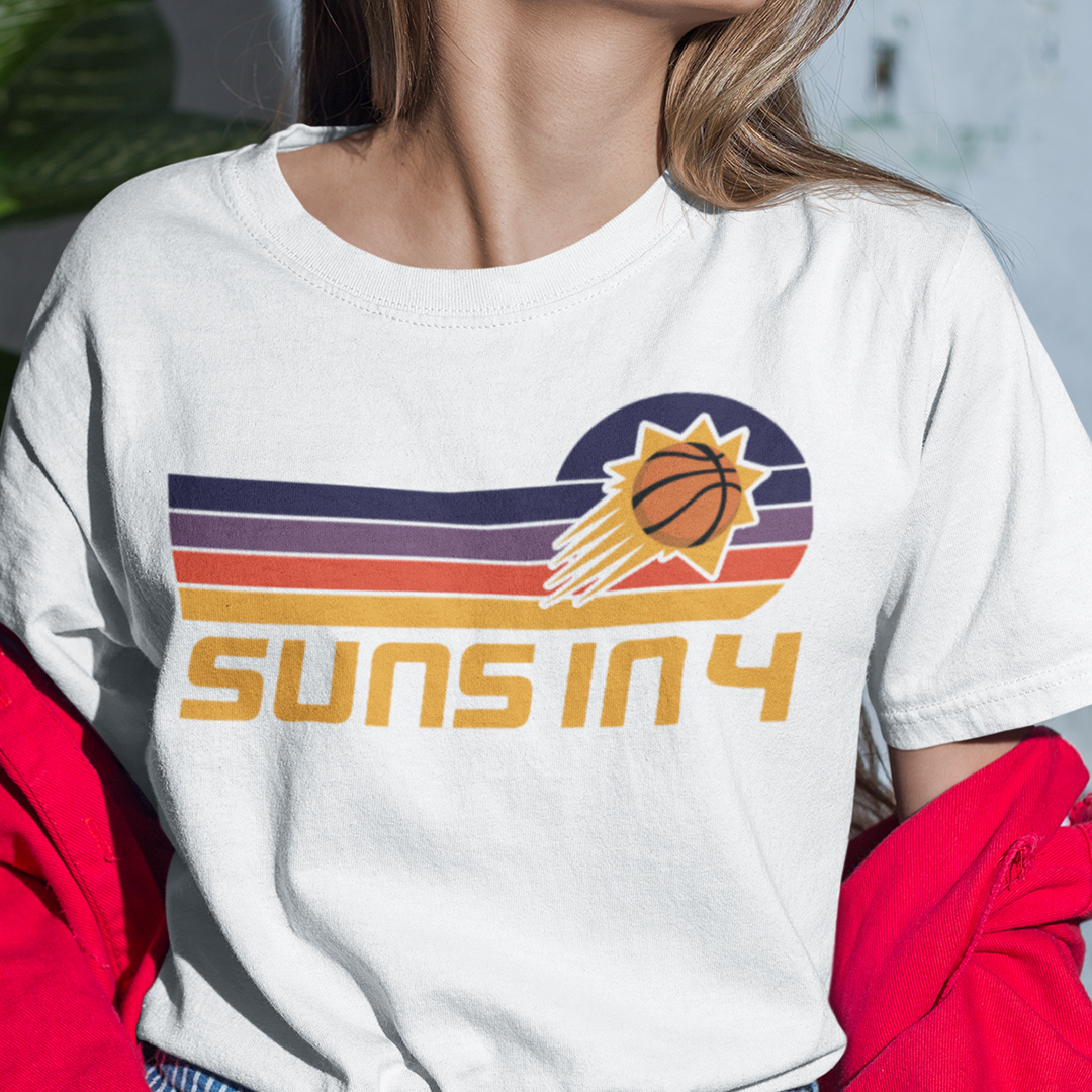 Phoenix Suns Shirt Suns In 4