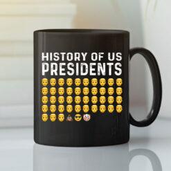 History Of US Presidents Joe Biden Clown Emoji Mug