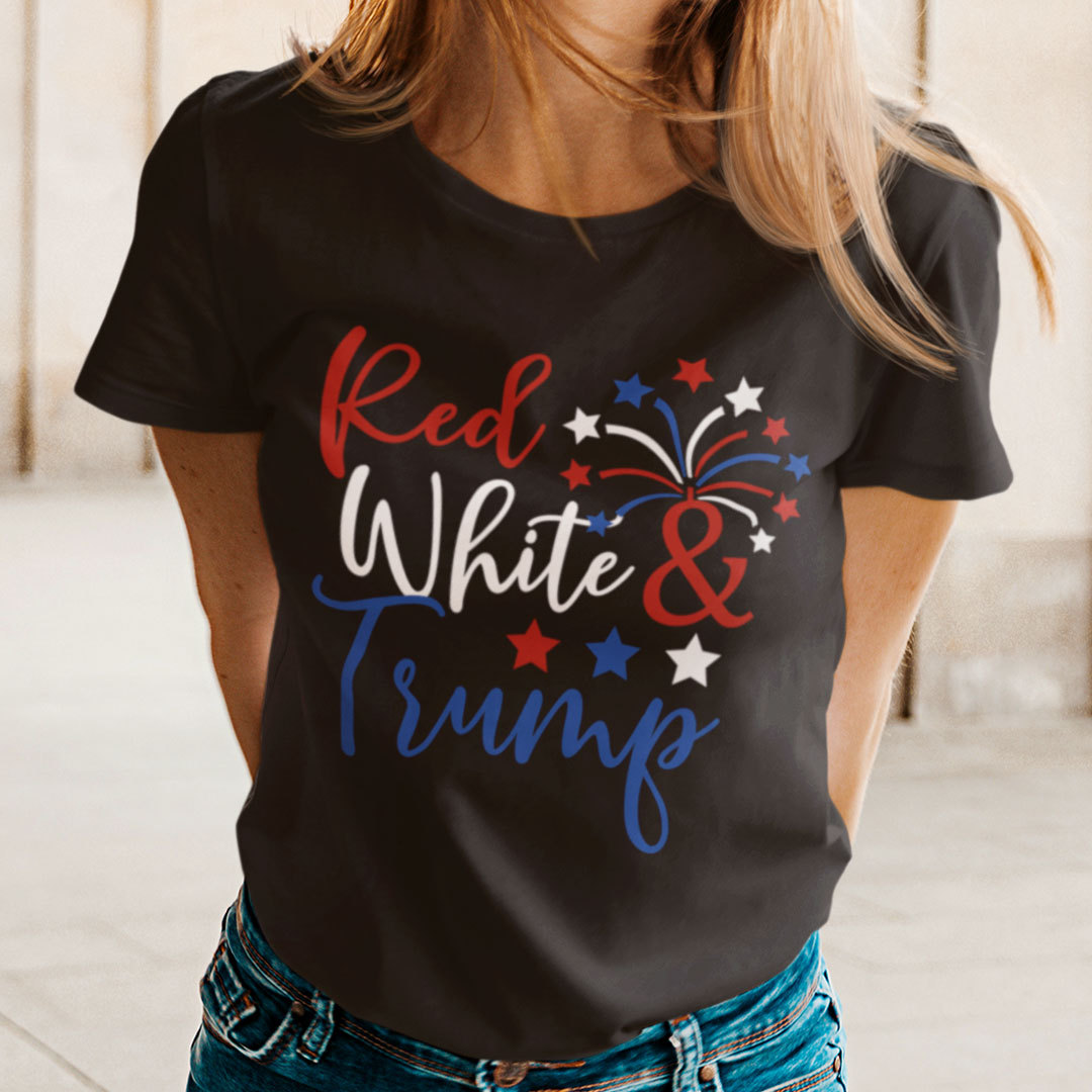 Red White And Trump T Shirt