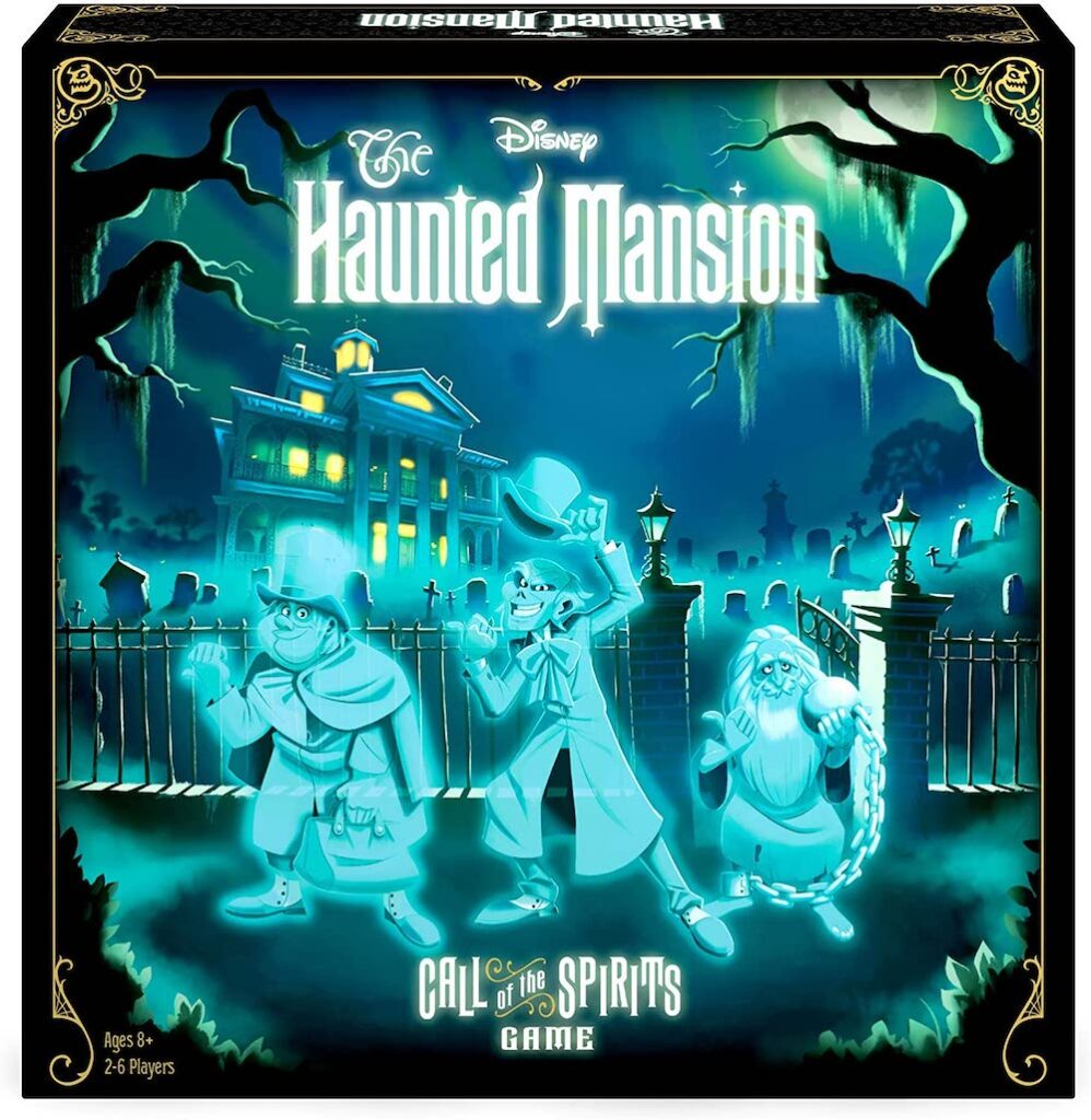 The Haunted Mansion- Call of the Spirits Board Game- best Halloween gift 2021