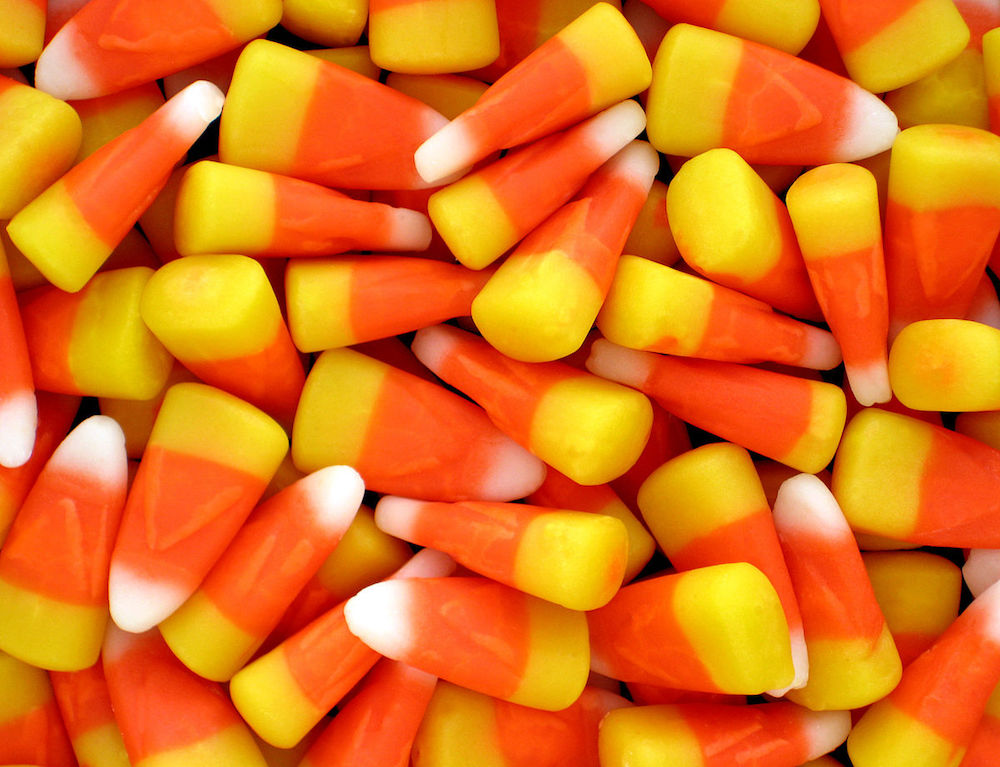 What are traditions on Halloween- candy corn