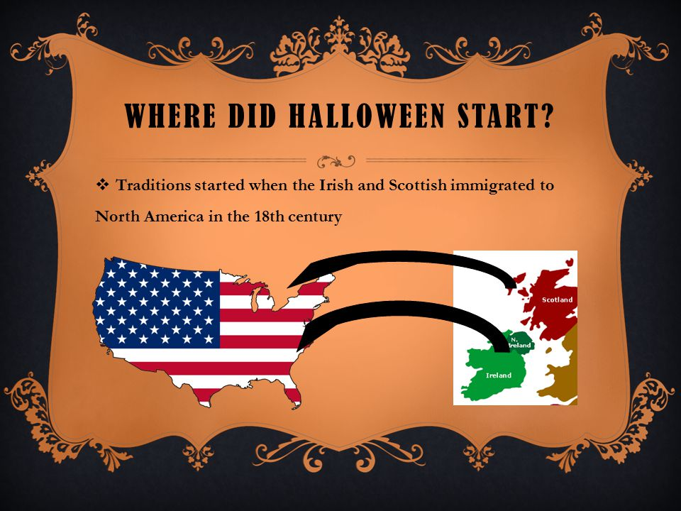 when did Halloween start in America?