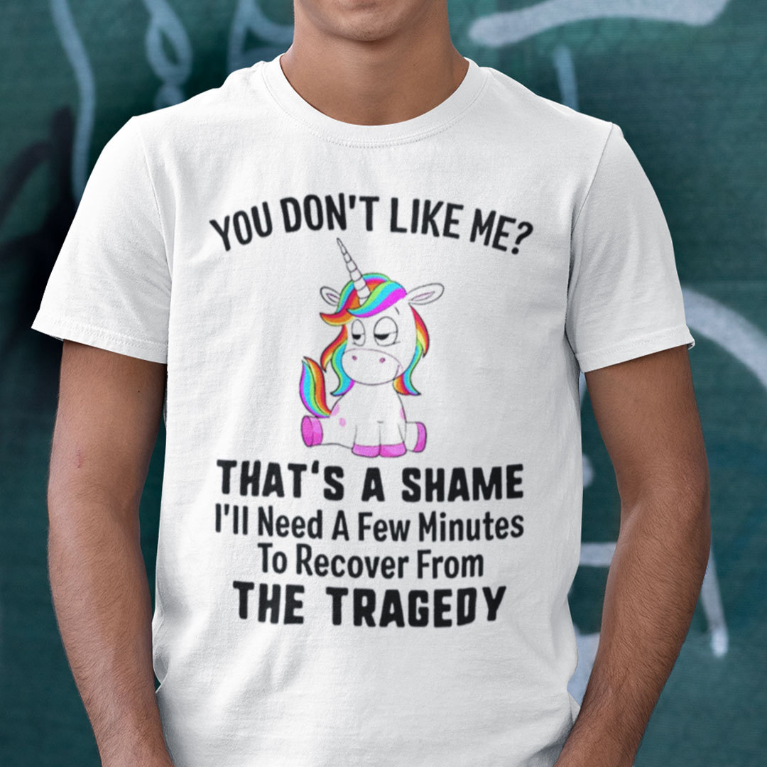 You Don't Like Me That The Shame Unicorn Shirt