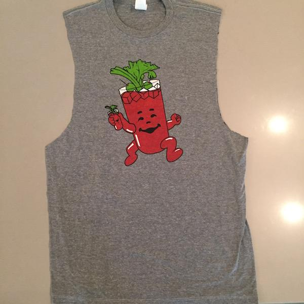 how to turn t shirt into muscle tank