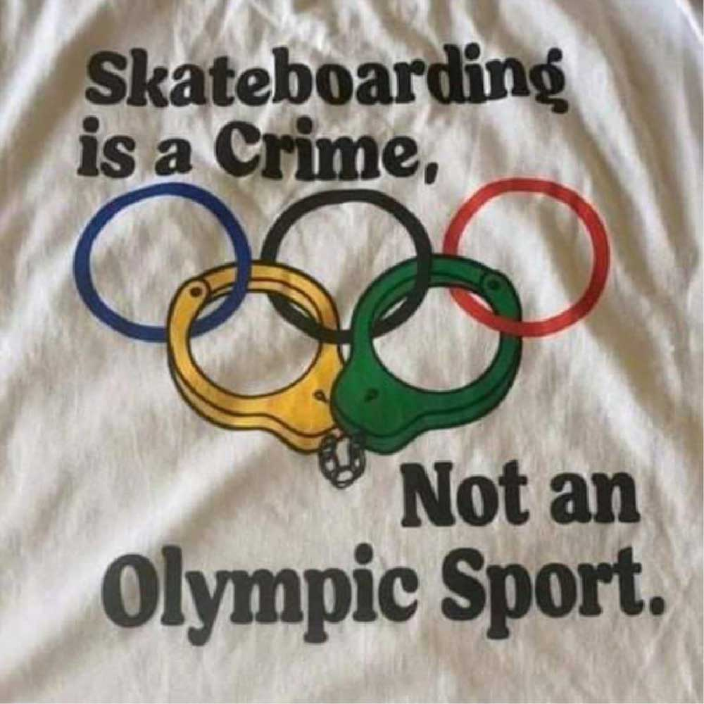 Skateboarding is a crime not an olympic sport news