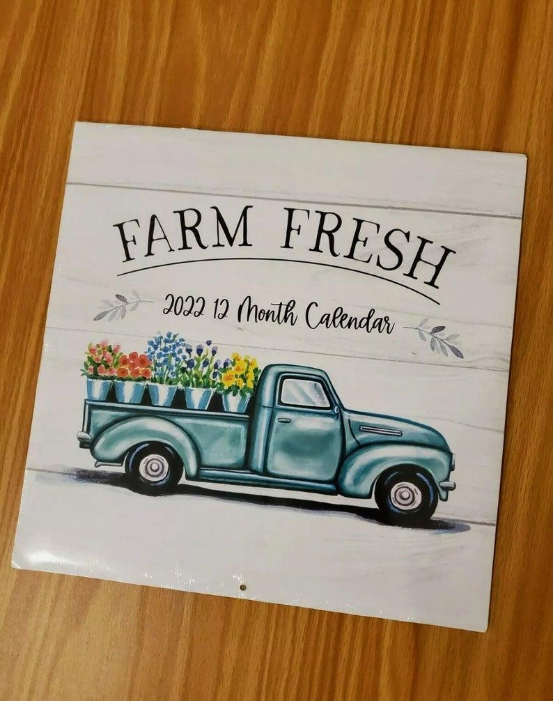 A nice 2022 calendar - Thanksgiving Gift Ideas For Clients