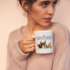 All Creatures Great And Small Mug Horse Dog Cat Cow