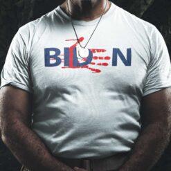 Biden Bloody Skeleton Hand Shirt