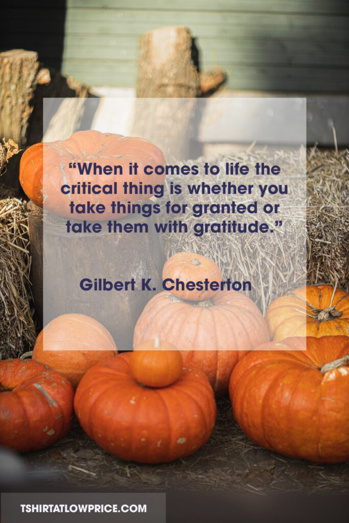 Blissful Thanksgiving sentiments quotes