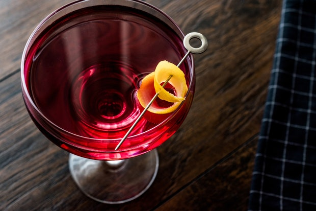 Boulevardier- classic Thanksgiving drinks