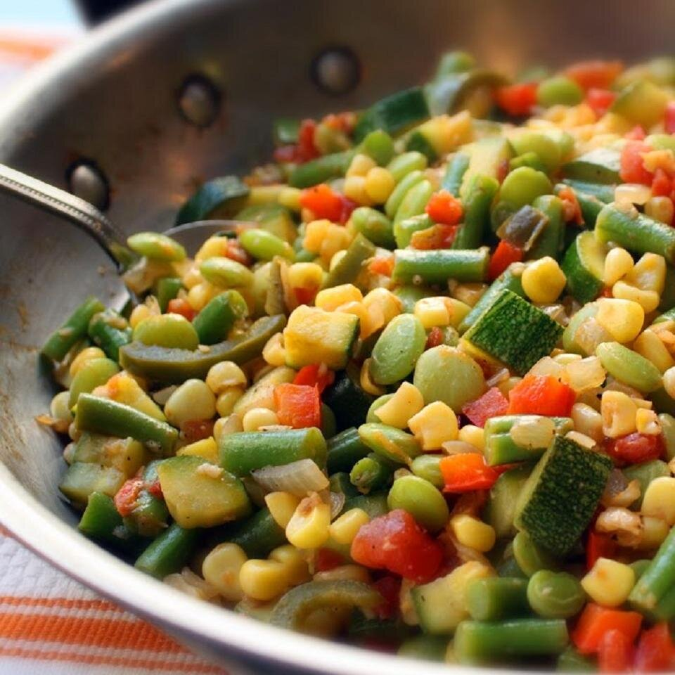 Chef John's Succotash- great corn dishes for Thanksgiving