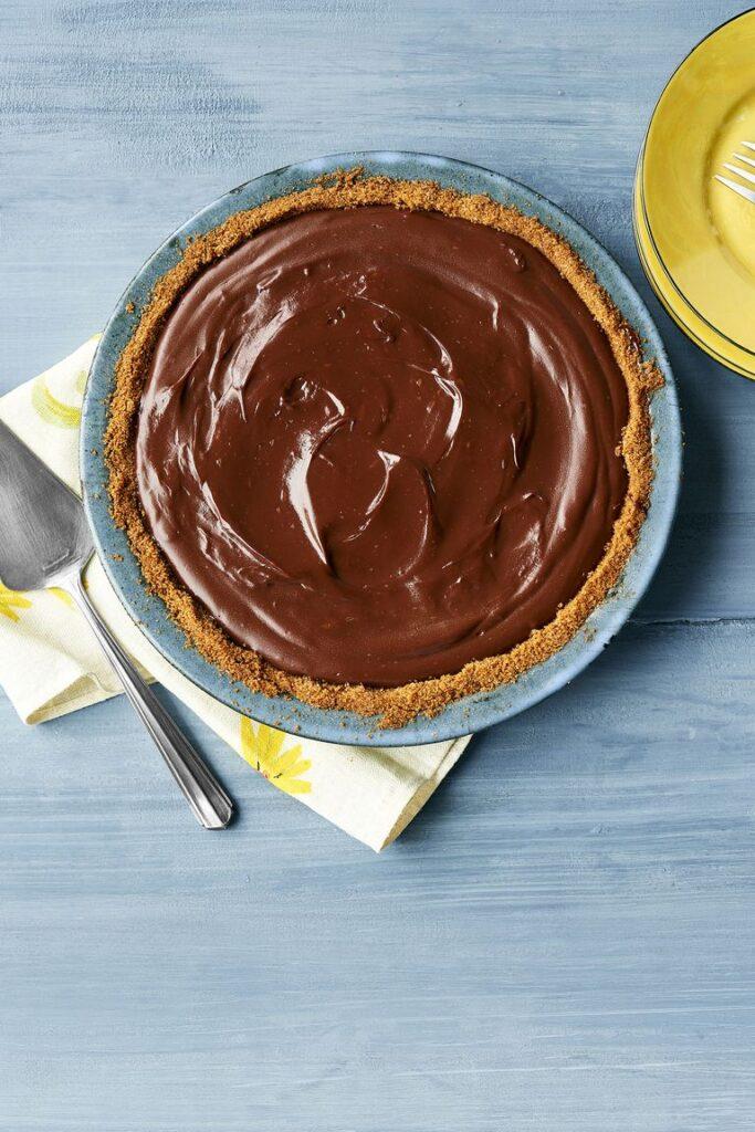 Chocolate Pie- best chocolate Thanksgiving desserts