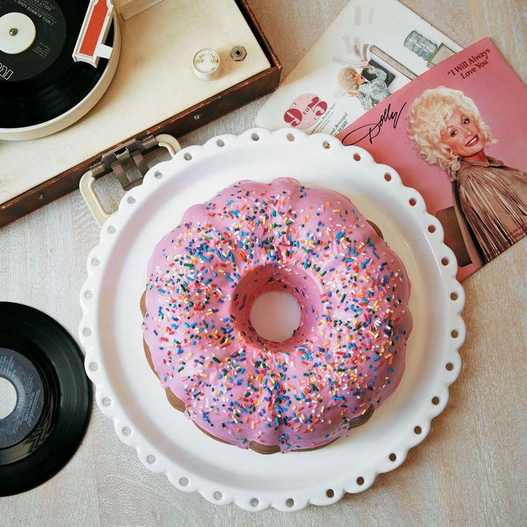 Dolly's Donut Coconut Bundt Cake