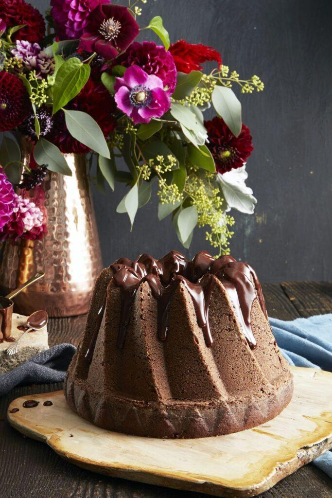 Double Chocolate Bundt- best chocolate Thanksgiving desserts