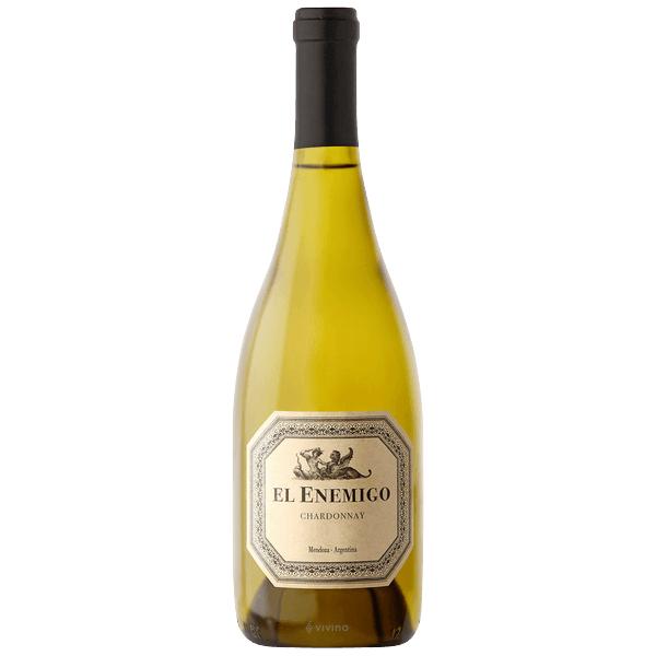 El Enemigo Chardonnay- best white wine for Thanksgiving.