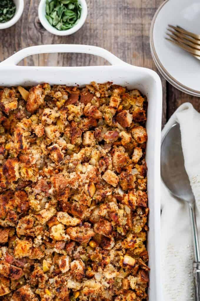Gluten-free Cornbread Stuffing