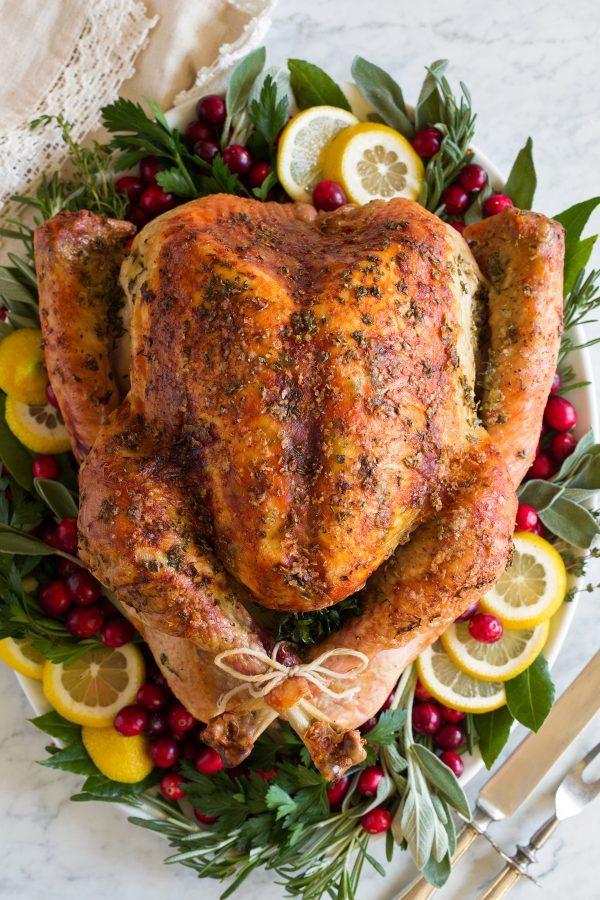 Great Roast Turkey recipe- best roast turkey recipe for Thanksgiving