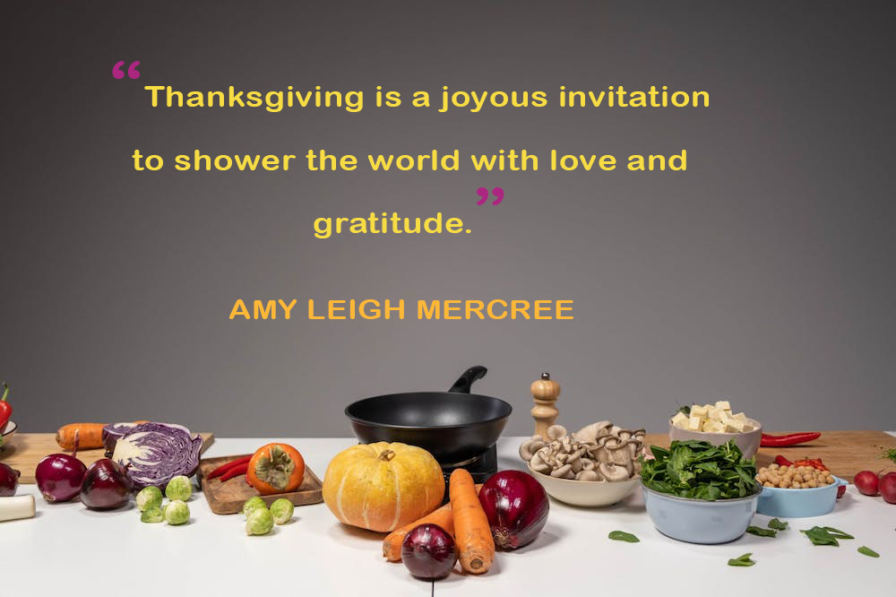 Great and famous Thanksgiving quotations