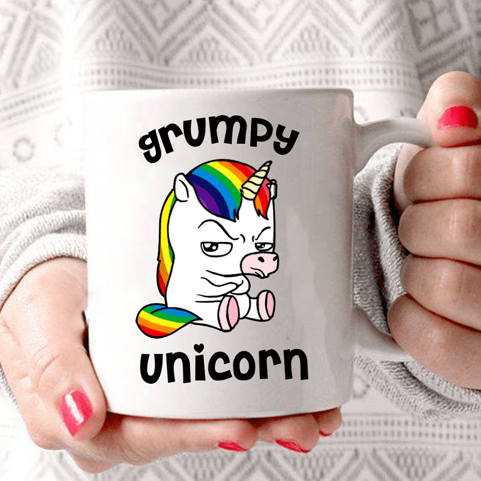 Grumpy Unicorn Mug