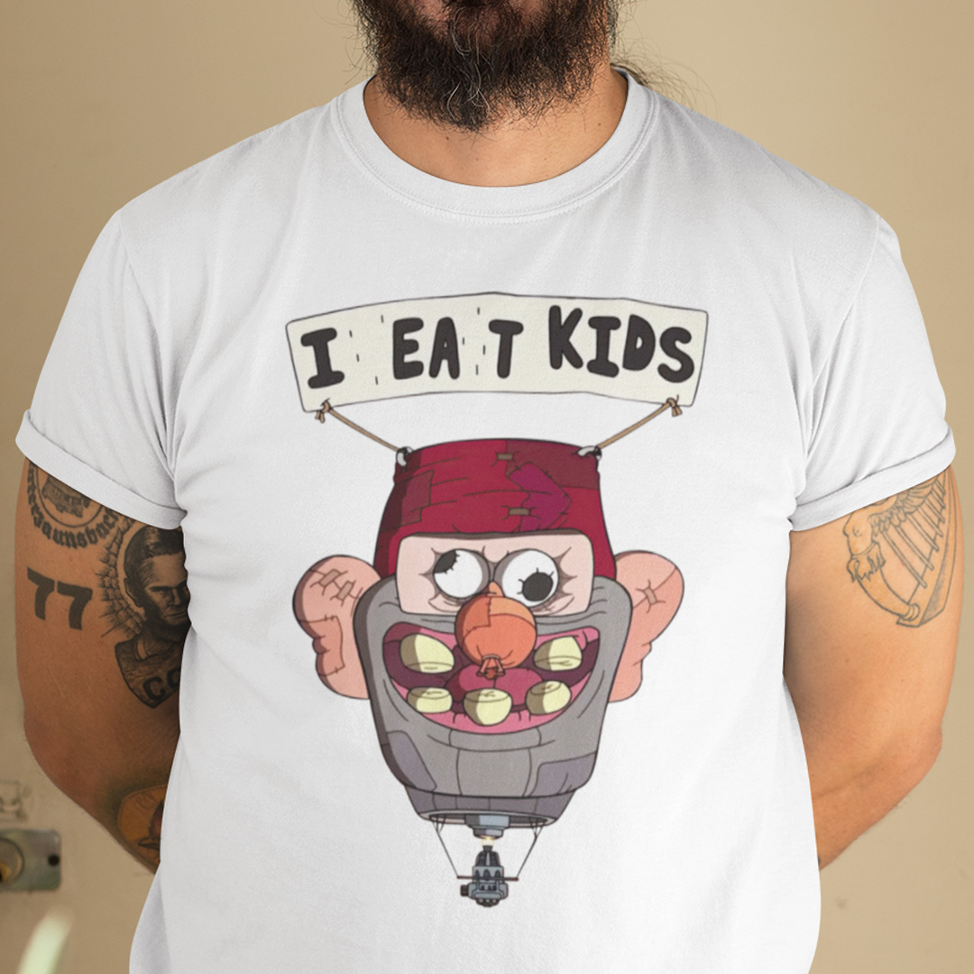 I Eat Kids Shirt Gravity Meme