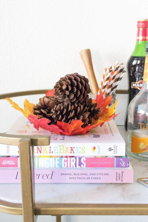Leaf Bowl- great Thanksgiving crafts for young children