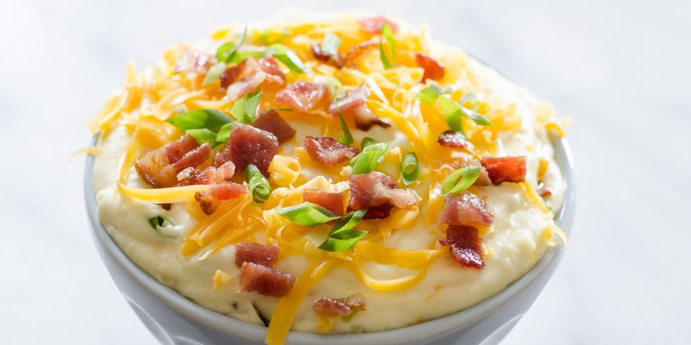 Loaded Mashed Potatoes- cool food ideas for Thanksgiving