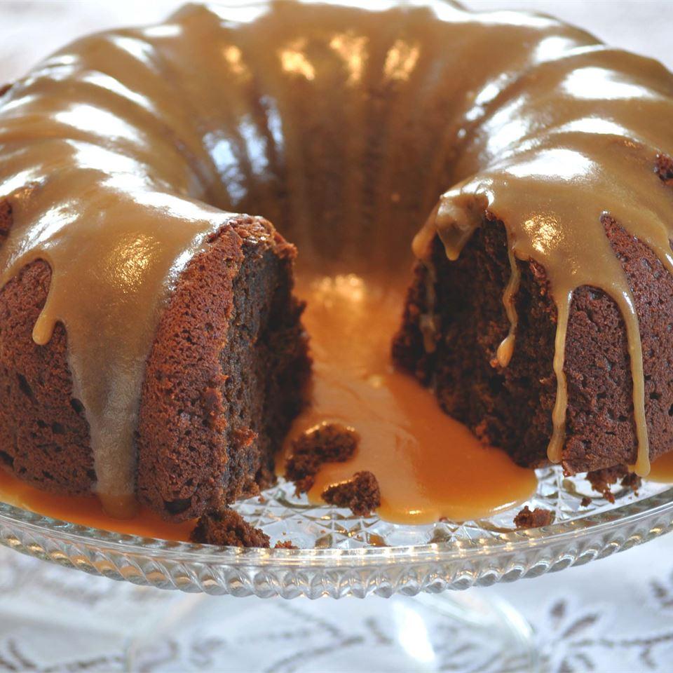 Pumpkin Chocolate Dessert Cake- best chocolate Thanksgiving desserts