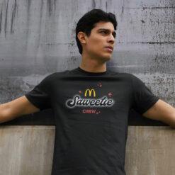 Saweetie McDonalds Shirt McDonald's x Saweetie