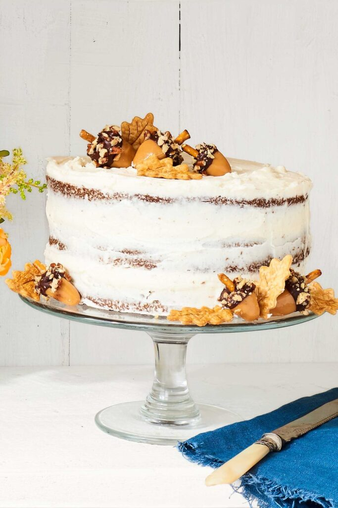 Spice Layer Cake- cool Thanksgiving desserts