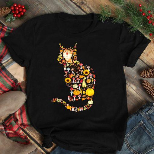 Thanksgiving Cat Shirt - Thanksgiving gift ideas for friends