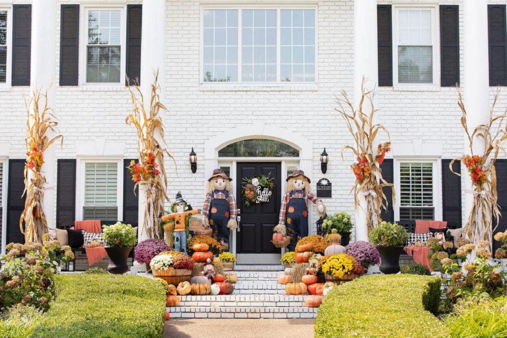 Best Thanksgiving outdoor decoration ideas