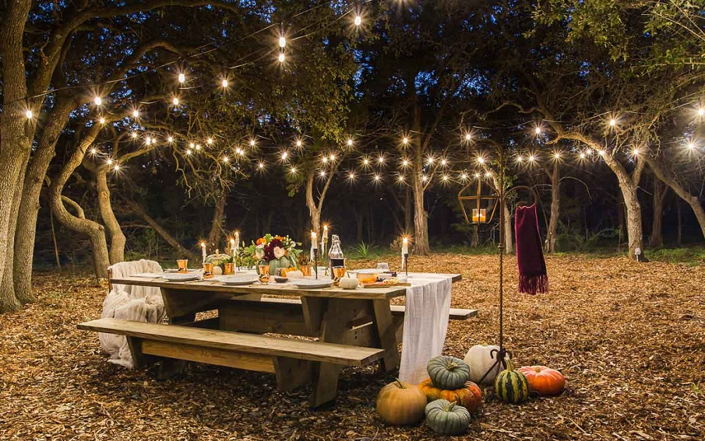 Thanksgiving outdoor decoration