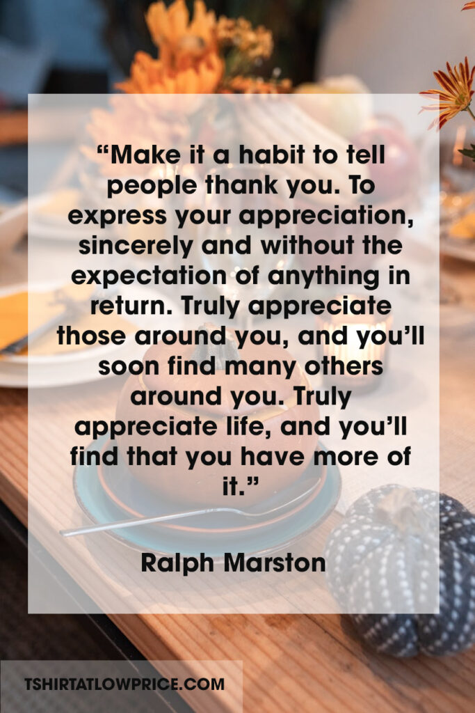 Thanksgiving sentiments quotes for the holiday