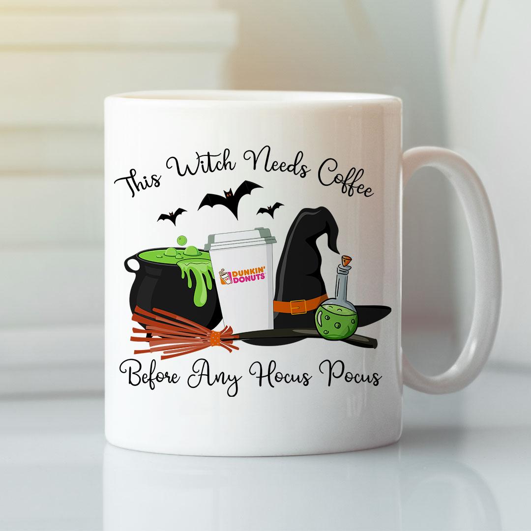 This Witch Needs Coffee Before Any Hocus Pocus Coffee Mug