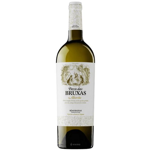 Torres Pazo das Bruxas Albariño 2018- best white wine for Thanksgiving