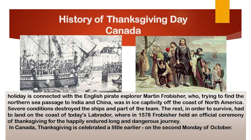 When is Thanksgiving Day in Canada 2021?