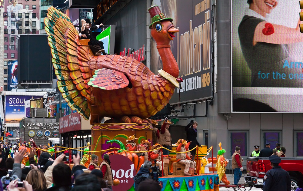 Why do we celebrate Thanksgiving in America?