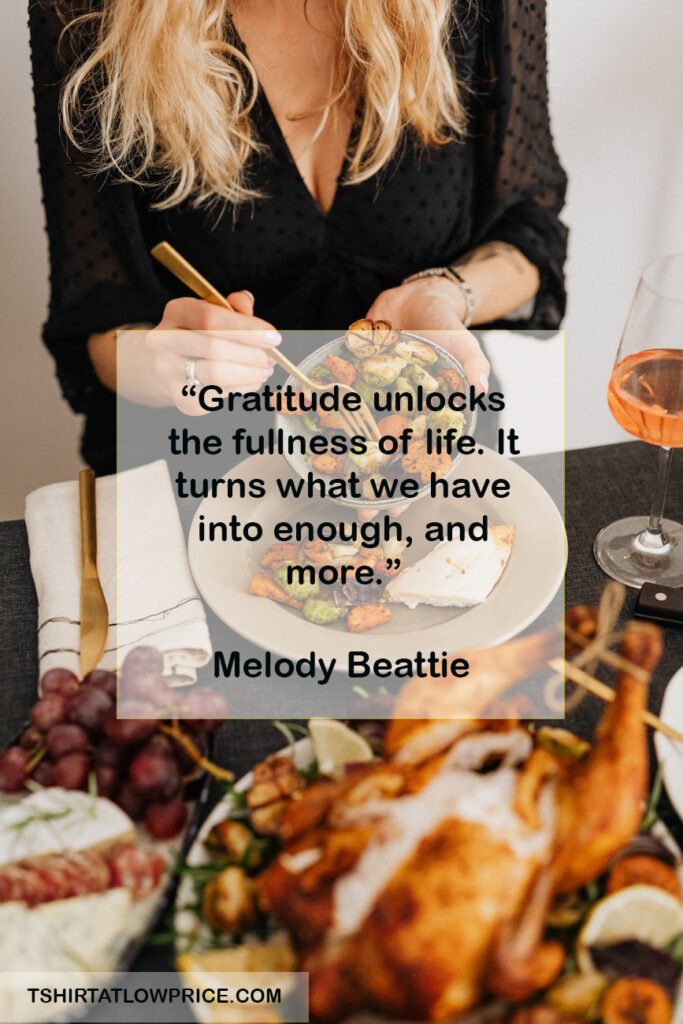Wonderful Thanksgiving Sentiments Quotes