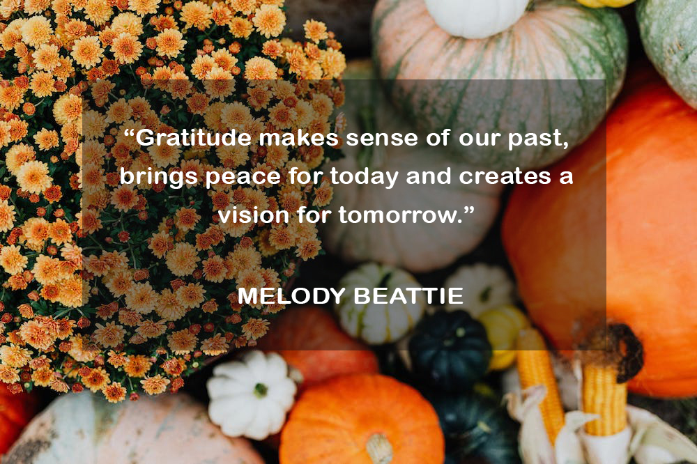 Wonderful and famous Thanksgiving quotations