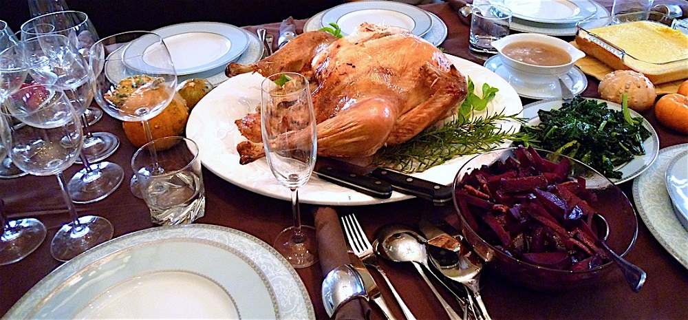 Thanksgiving celebration in Germany